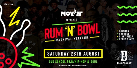 Movin' Presents: Rum & Bowl tickets