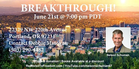 Breakthrough in Portland, OR tickets