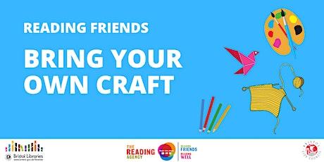 Reading Friends: Art & Craft Club tickets