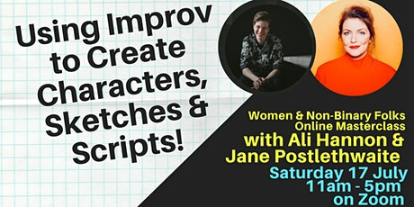 How to use Improv for Characters, Sketches & Scripts! tickets
