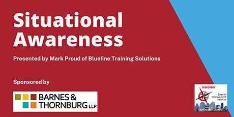 Situational Awareness Training tickets