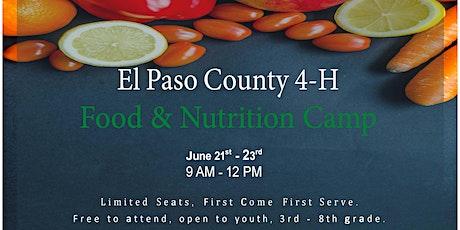Food & Nutrition Camp boletos