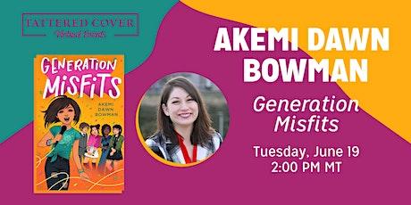 Live Stream with Akemi Dawn Bowman tickets