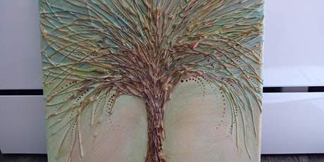Hot Glue and Acrylic Painting-Metallic Tree at Soule' Studio tickets