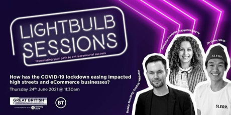 How has lockdown easing impacted the high streets and eCommerce businesses? Tickets