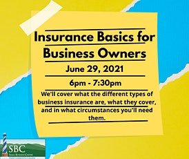 Insurance Basics for Business Owners tickets