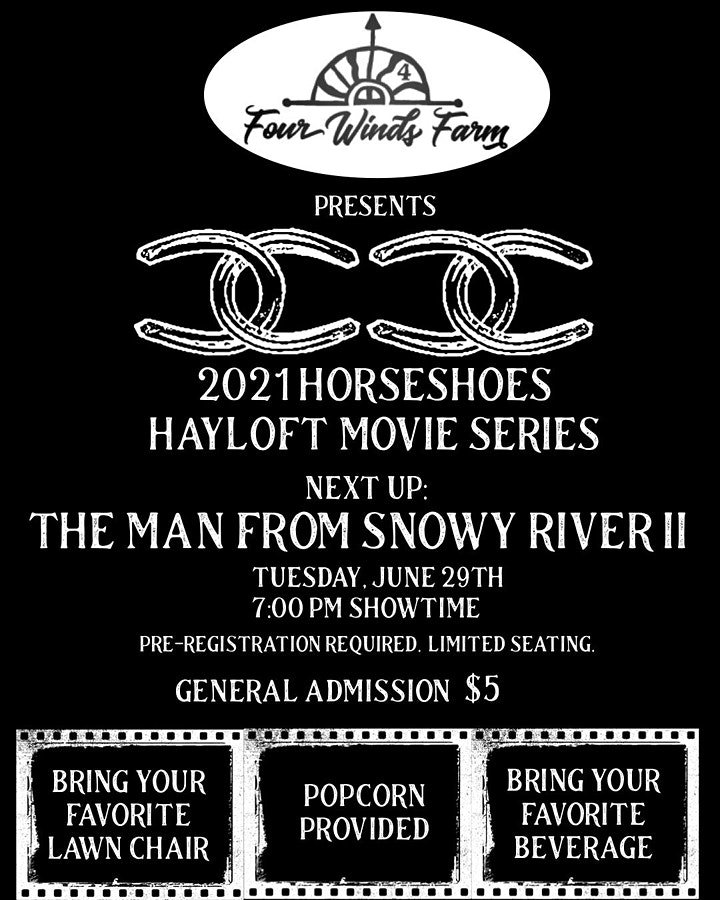 2021 Horseshoes: Hayloft Movie Series - June image