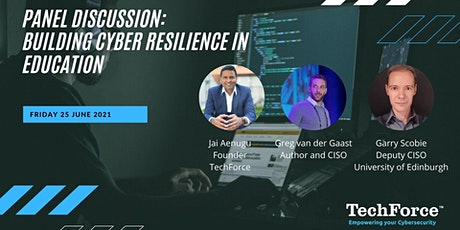 Panel Discussion building cyber resilience in education tickets