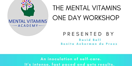 The Mental Vitamins Inoculation half day intense TASTER session tickets
