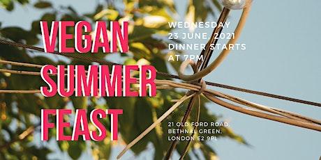 Vegan Summer Feast tickets