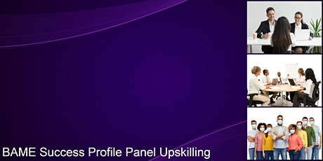 BAME Success Profile Panel Upskilling for Service Excellence tickets