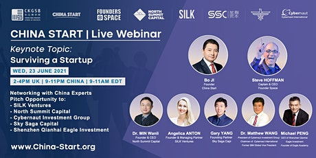 """Surviving a Startup"" Keynote Speech &  Investment Pitch tickets"