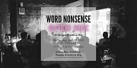 Word Nonsense: Open Mic & Journal Launch Event tickets