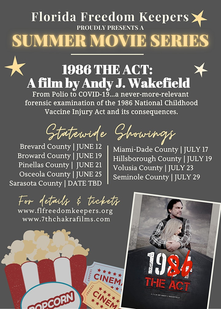 FFK's Summer Movie Series - 1986: The Act (PINELLAS COUNTY) image