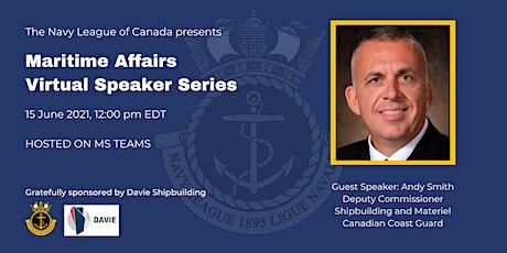 Maritime Affairs Speaker Series biljetter