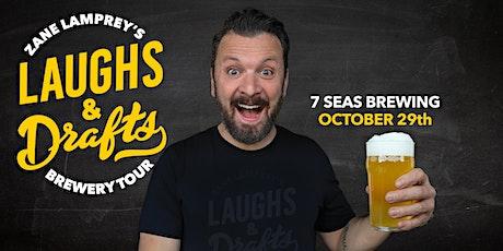 7 Seas Brewing •  Zane Lamprey's  Laughs & Drafts  • Tacoma, WA tickets