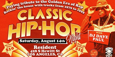 Classic Hip-Hop Night