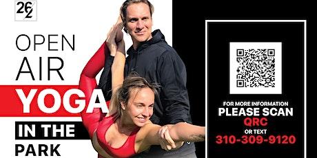 26/2 Open Air YOGA!  @ Pan Pacific Park (Mon,Wed,Fri @6pm & Sat @9am) tickets