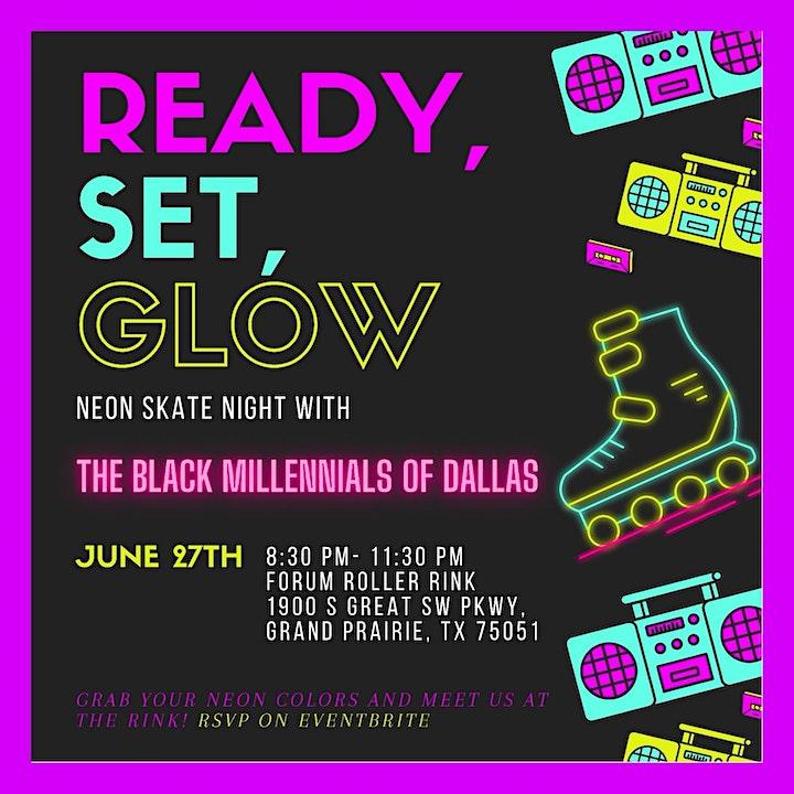 Ready, Set, Glow Neon Skate Night image