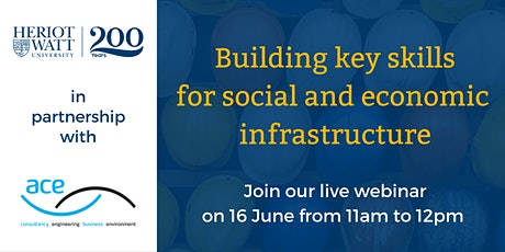 Building key skills for social and economic infrastructure tickets