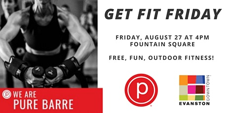 Get Fit Friday with Pure Barre Evanston tickets