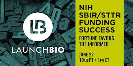 LaunchBio | SBIR/STTR Application Workshop tickets