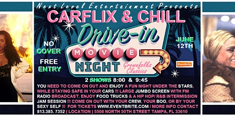 CAR FLIX & CHILL:  drive in movie experience COOOORDINATE & BREATHE edition tickets