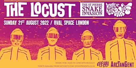 Effigy & ArcTanGent presents: THE LOCUST (NEW DATES) tickets