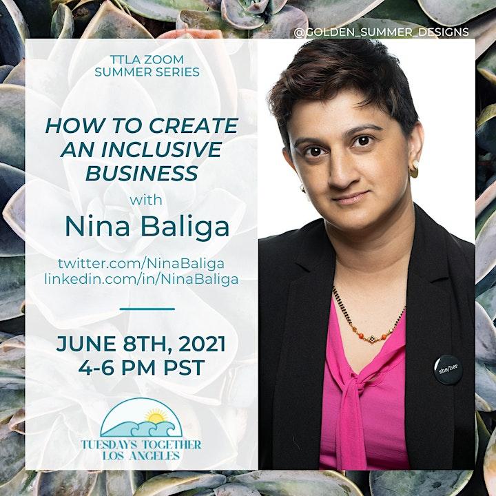 How to Create an Inclusive Business with Nina Baliga image
