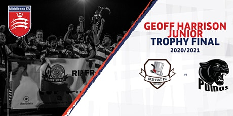Geoff Harrison Junior Trophy Final - Old Hat FC vs Shepperton Pumas tickets
