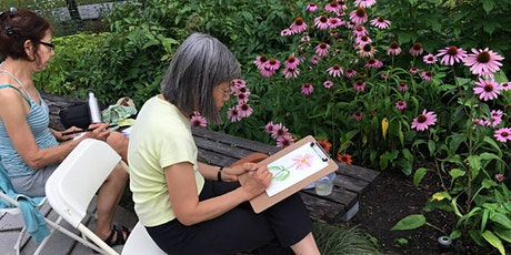 Watercolor Workshop: Summer Blooms tickets