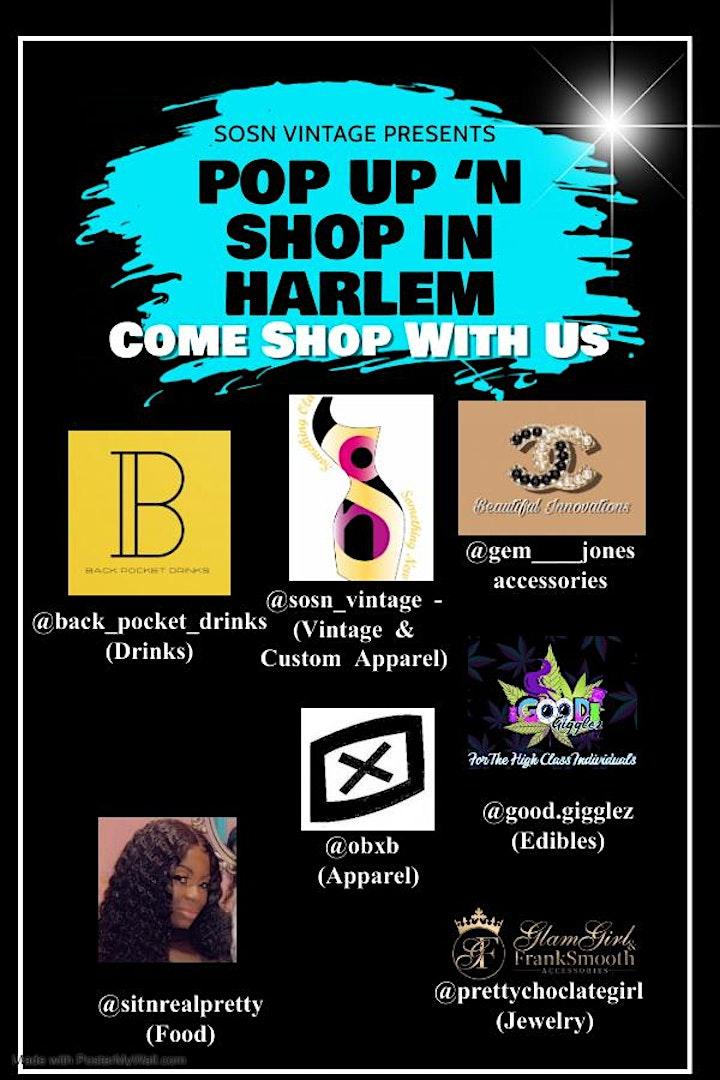 Pop Up 'n Shop in Harlem image