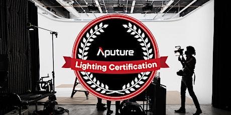 Aputure Lighting Certification 2021 - Win FREE Lights tickets