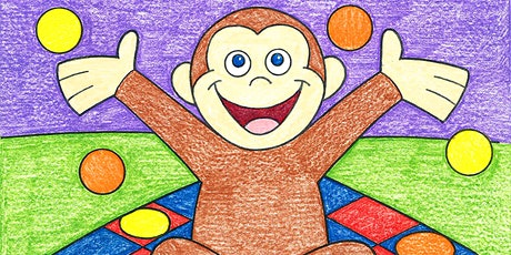 Young Rembrandts Preschool Drawing Program: Curious George tickets
