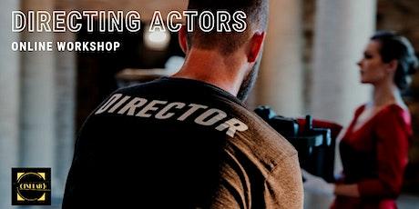 Directing actors workshop tickets