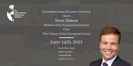The Future of the European Union by Mr. Sven Simon tickets