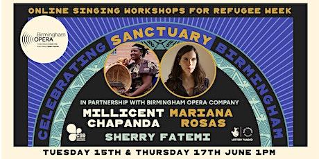 Singing Workshops for Refugee Week tickets