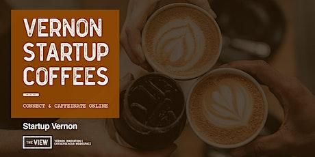 Vernon Startup Coffees tickets