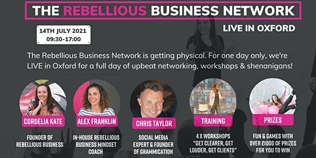 The Rebellious Business Network: Live in Oxford tickets