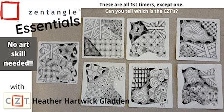 Zentangle® Essentials Class (PM) biglietti