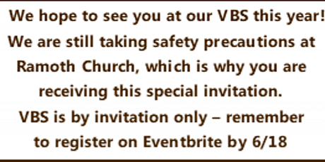 Vacation Bible Spectacular tickets