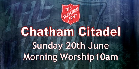 Chatham Salvation Army Morning Worship tickets