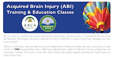 Brain Injury Training (Free, 4 CEUs) tickets