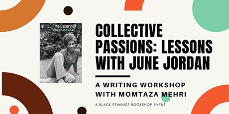 Collective Passions: Lessons with June Jordan entradas