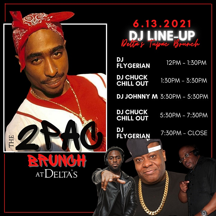 The Tupac Brunch at Delta's image