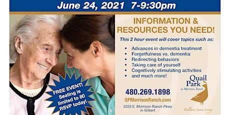 East Valley Dementia Symposium tickets