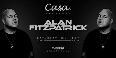 Casa Presents; Alan Fitzpatrick tickets