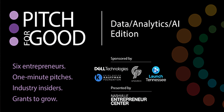 Pitch for Good 2021:  Data/Analytics/AI Edition tickets