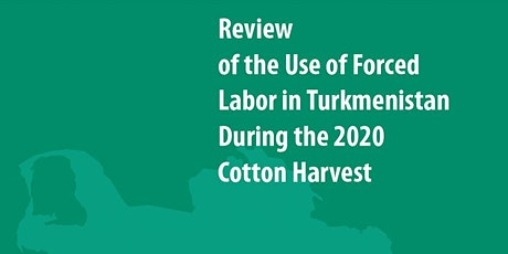 Turkmenistan Cotton Campaign - EU Briefing tickets