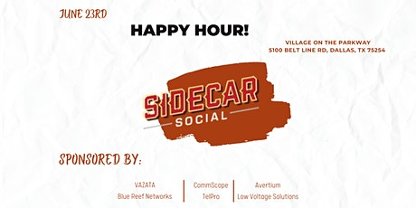 Happy Hour at Sidecar Social tickets